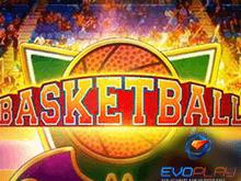 Спортивный автомат Баскетбол на зеркале казино