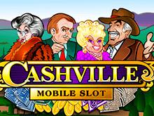 Играть на деньги в игровой автомат Cashville